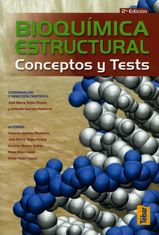Portada del libro 9788473603232 Bioquímica Estructural. Conceptos y Tests