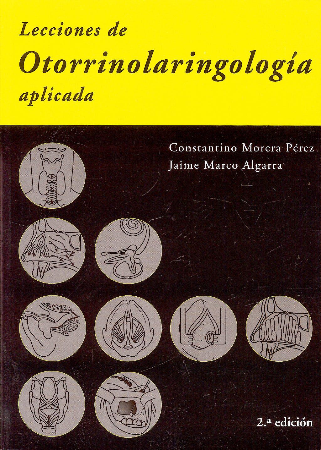 Portada del libro 9788474292718 Lecciones de Otorrinolaringología Aplicada
