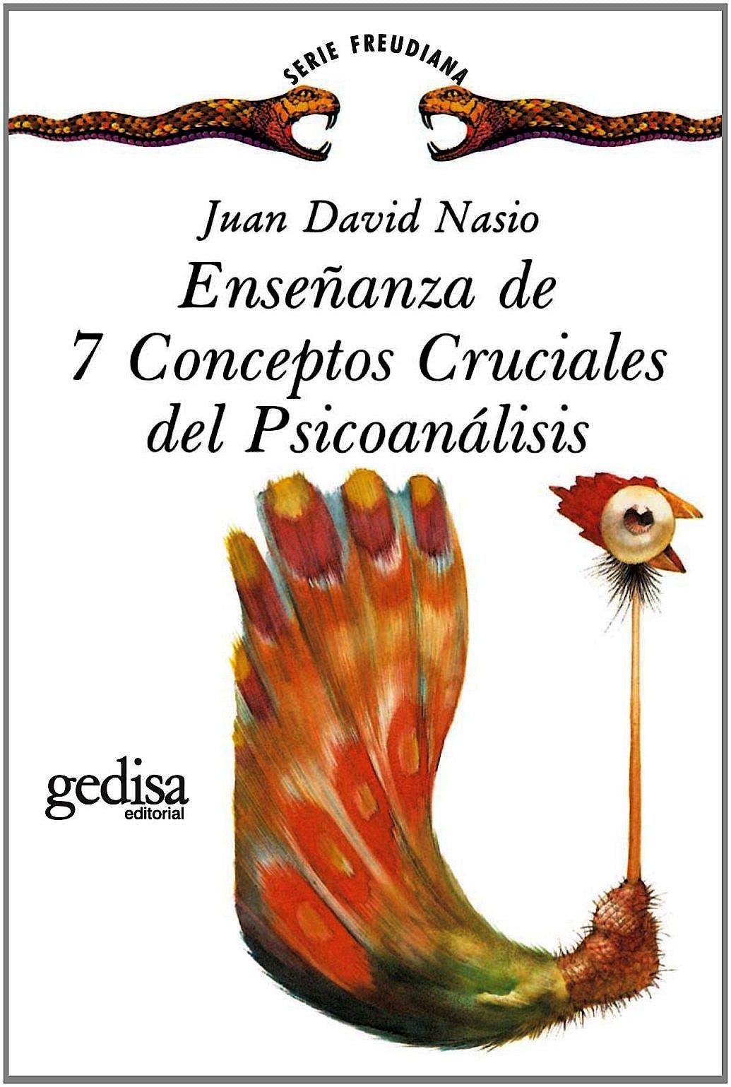 Portada del libro 9788474324259 Enseñanza de 7 Conceptos Cruciales del Psicoanalisis