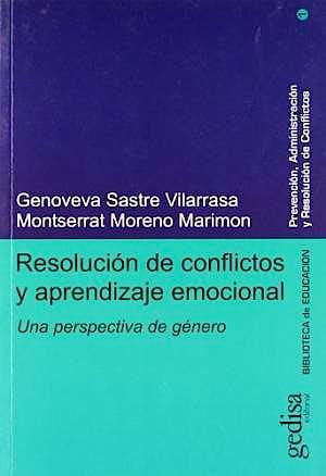 Portada del libro 9788474328882 Resolucion de Conflictos y Aprendizaje Emocional