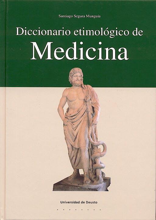 Portada del libro 9788474859188 Diccionario Etimologico de Medicina
