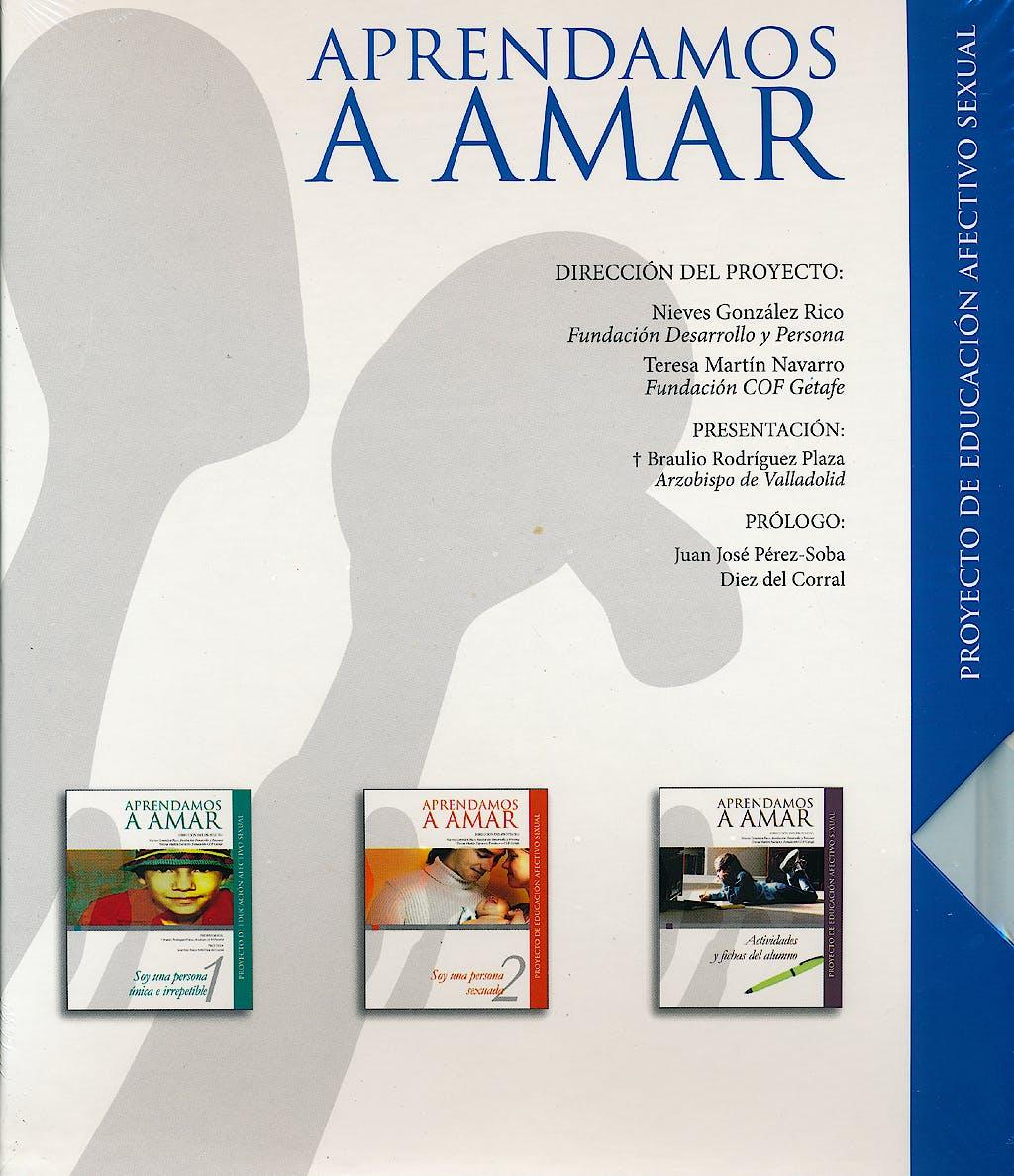 Portada del libro 9788474908503 Aprendamos a Amar. Proyecto de Educacion Afectivo Sexual, Obra Completa 3 Vols. + Cd-Rom