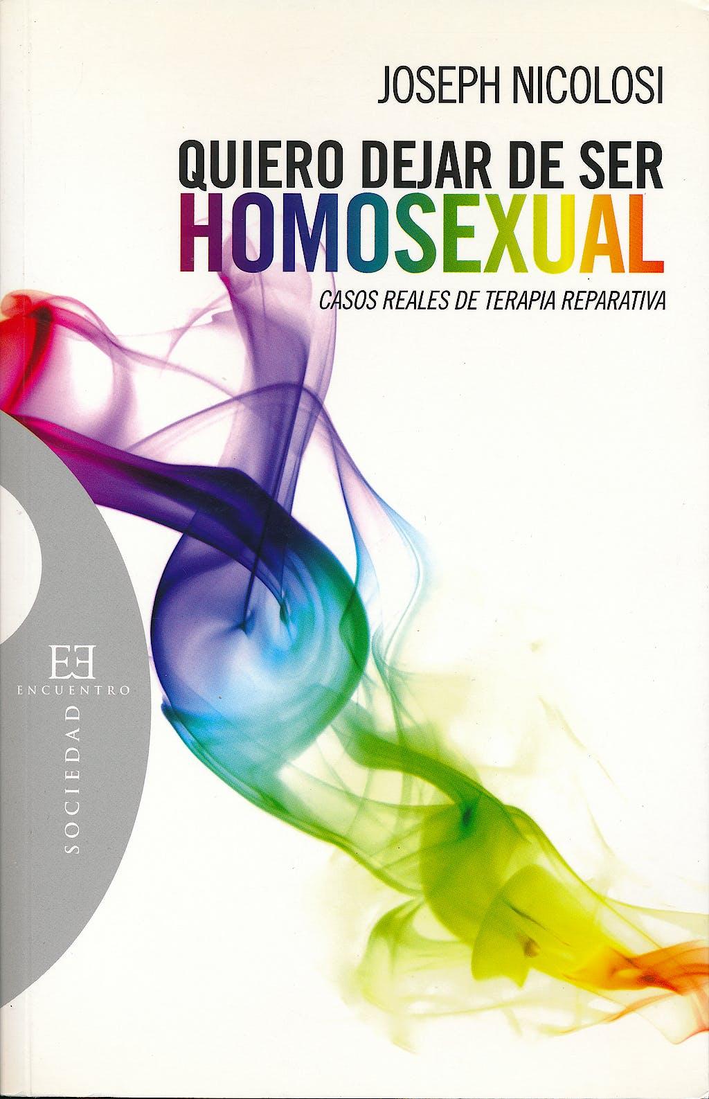 Portada del libro 9788474909661 Quiero Dejar de ser Homosexual