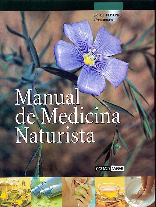 Portada del libro 9788475562988 Manual de Medicina Naturista