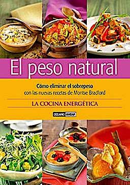 Portada del libro 9788475565323 El Peso Natural. como Eliminar el Sobrepeso con las Nuevas Recetas de Montse Bradford. la Cocina Energética