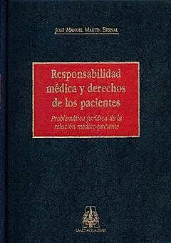 Portada del libro 9788476954942 Responsabilidad Medica y Derechos de los Pacientes
