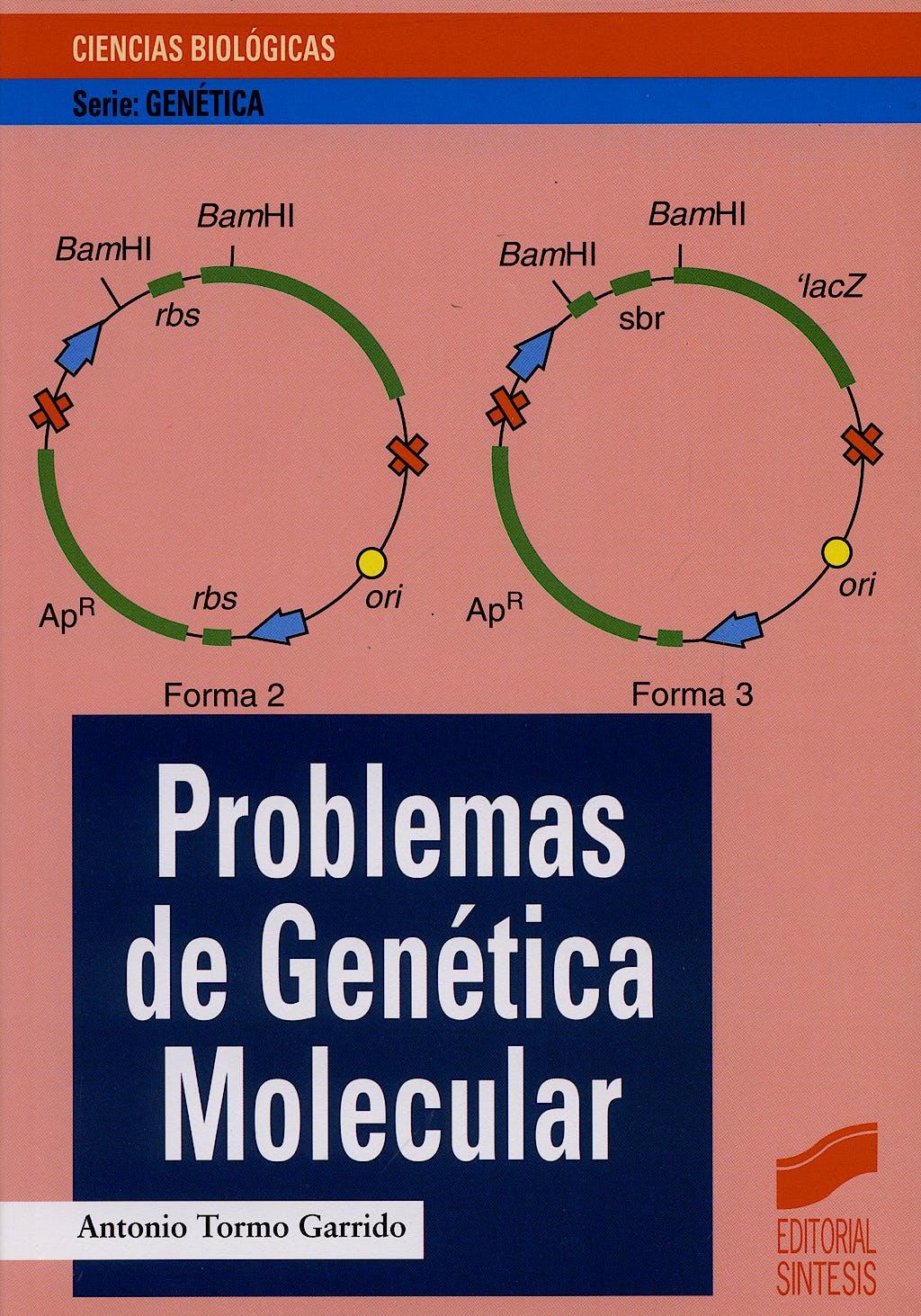 Portada del libro 9788477386018 Problemas de Genetica Molecular