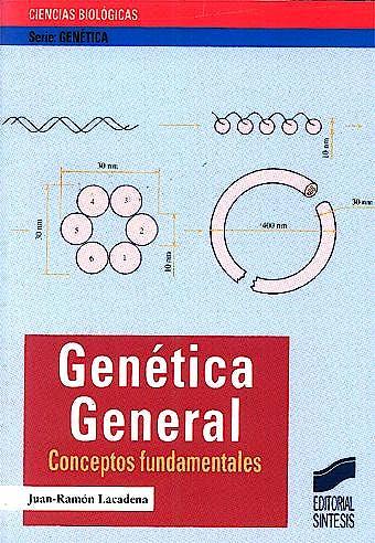 Portada del libro 9788477386452 Genetica General