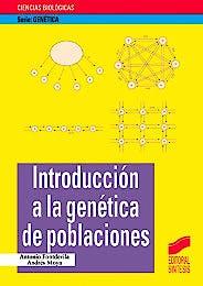 Portada del libro 9788477386919 Introducción a la Genética de Poblaciones