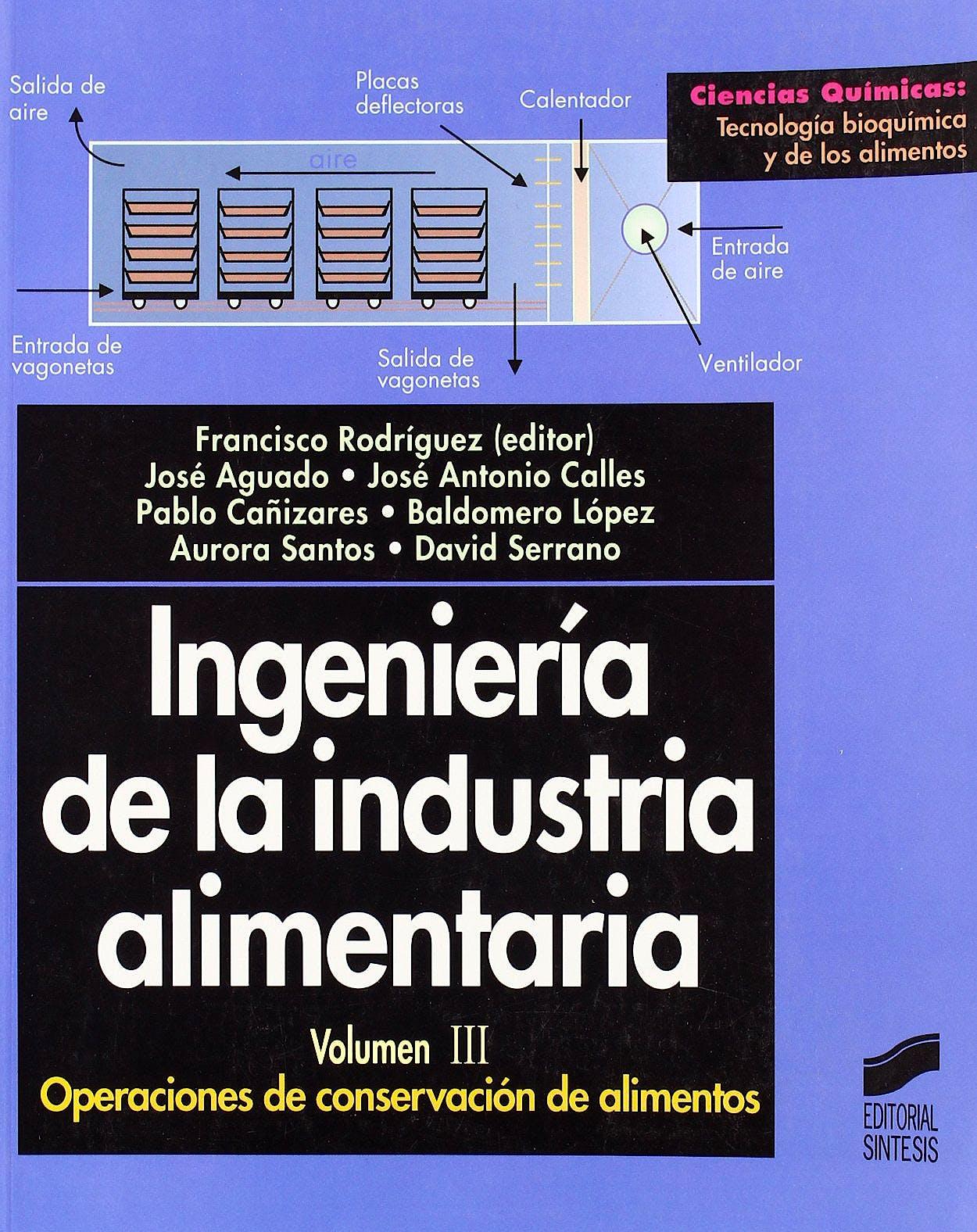 Portada del libro 9788477389392 Ingenieria de la Industria Alimentaria, Vol. Iii: Operaciones de Conservacion de Alimentos