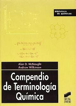 Portada del libro 9788477389552 Compendio de Terminología Química