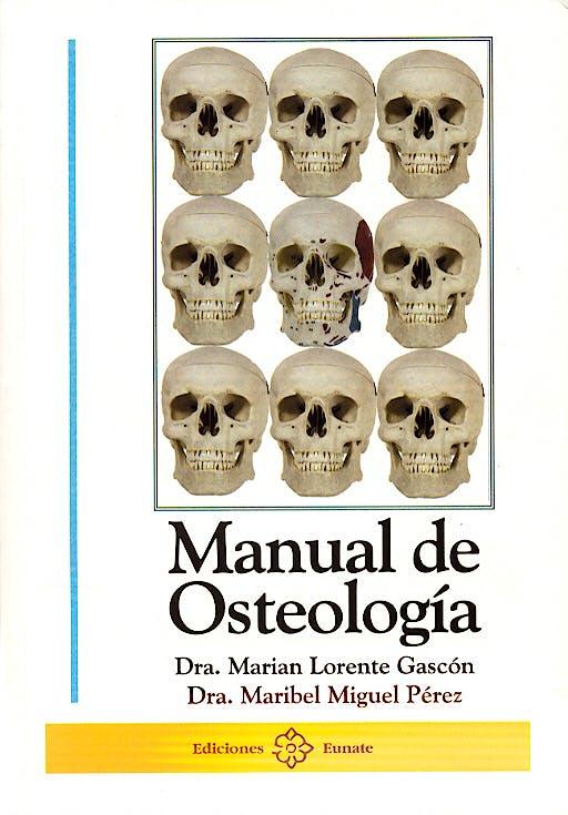 Portada del libro 9788477681571 Manual de Osteología + CD-ROM