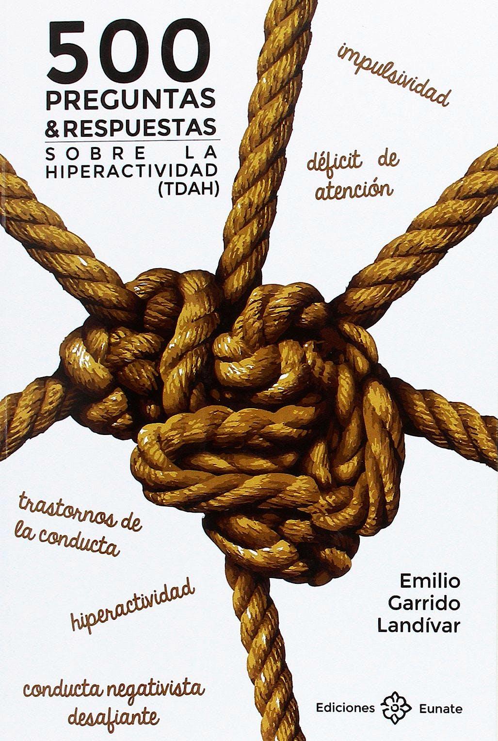 Portada del libro 9788477683100 500 Preguntas y Respuestas sobre la Hiperactividad (TDAH)