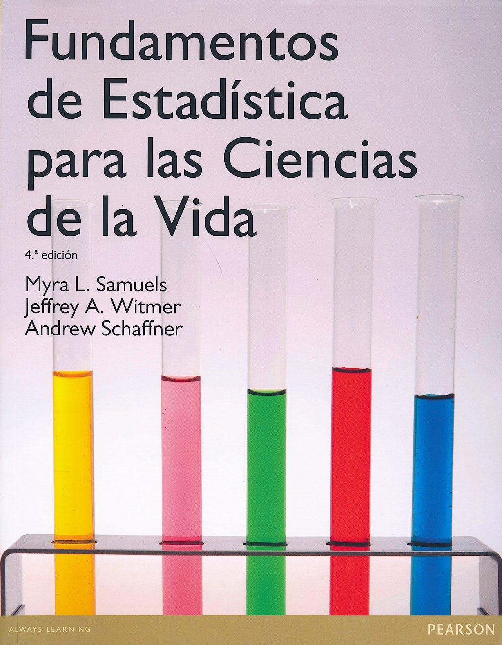Portada del libro 9788478291373 Fundamentos de Estadistica para las Ciencias de la Vida