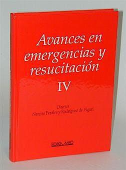 Portada del libro 9788478772711 Avances en Emergencias y Resucitacion IV