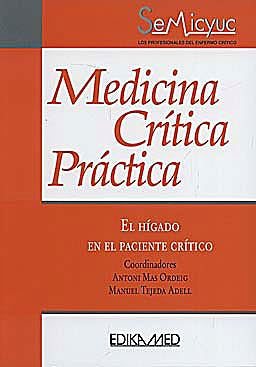 Portada del libro 9788478776429 Medicina Critica Practica. el Higado en el Paciente Critico