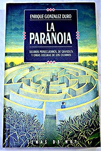 Portada del libro 9788478800896 La Paranoia