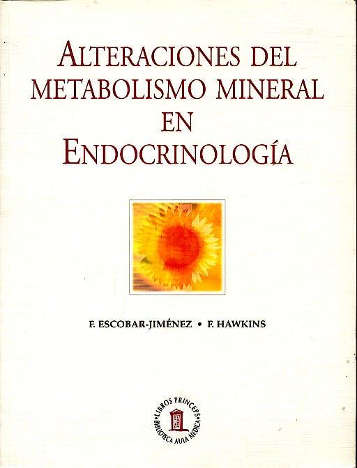 Portada del libro 9788478852871 Alteraciones del Metabolismo Mineral en Endocrinologia