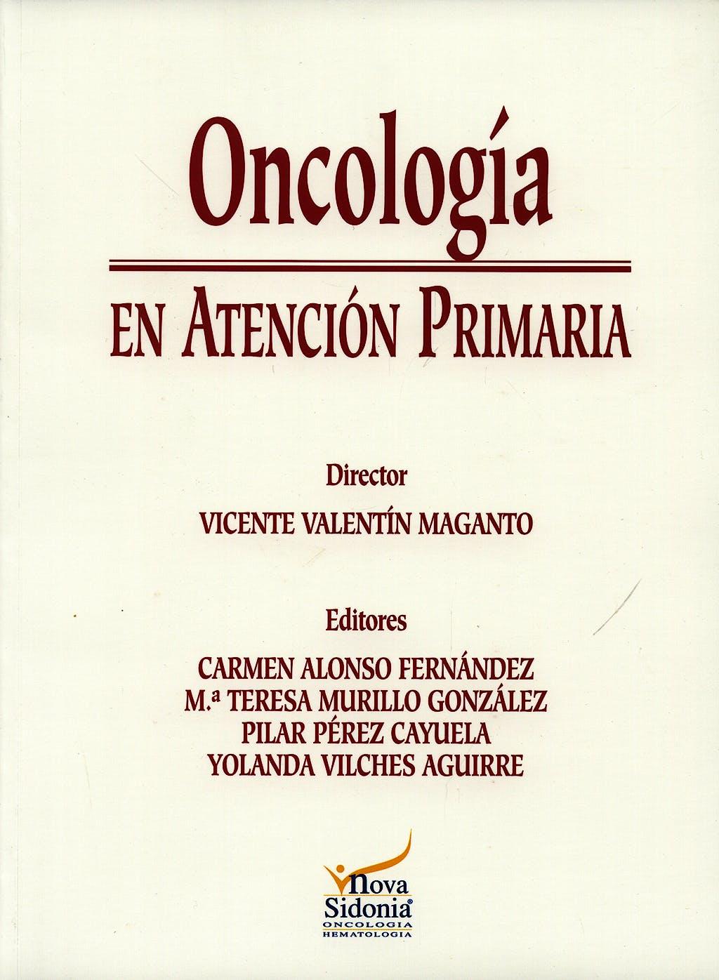Portada del libro 9788478853168 Oncologia en Atencion Primaria