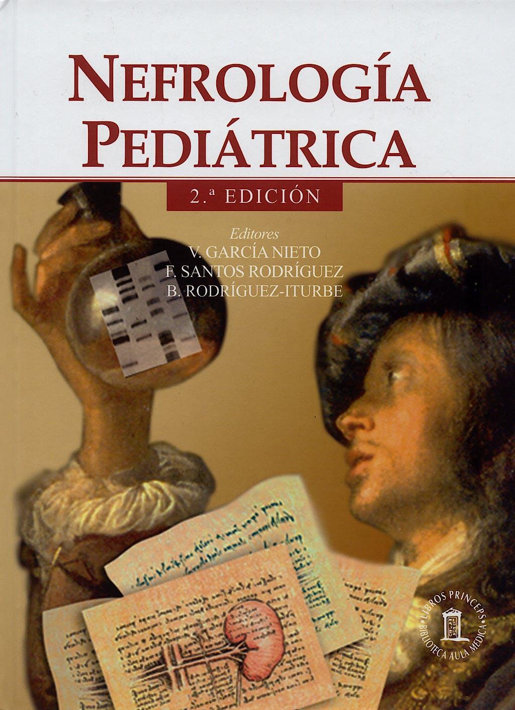 Portada del libro 9788478854226 Nefrologia Pediatrica