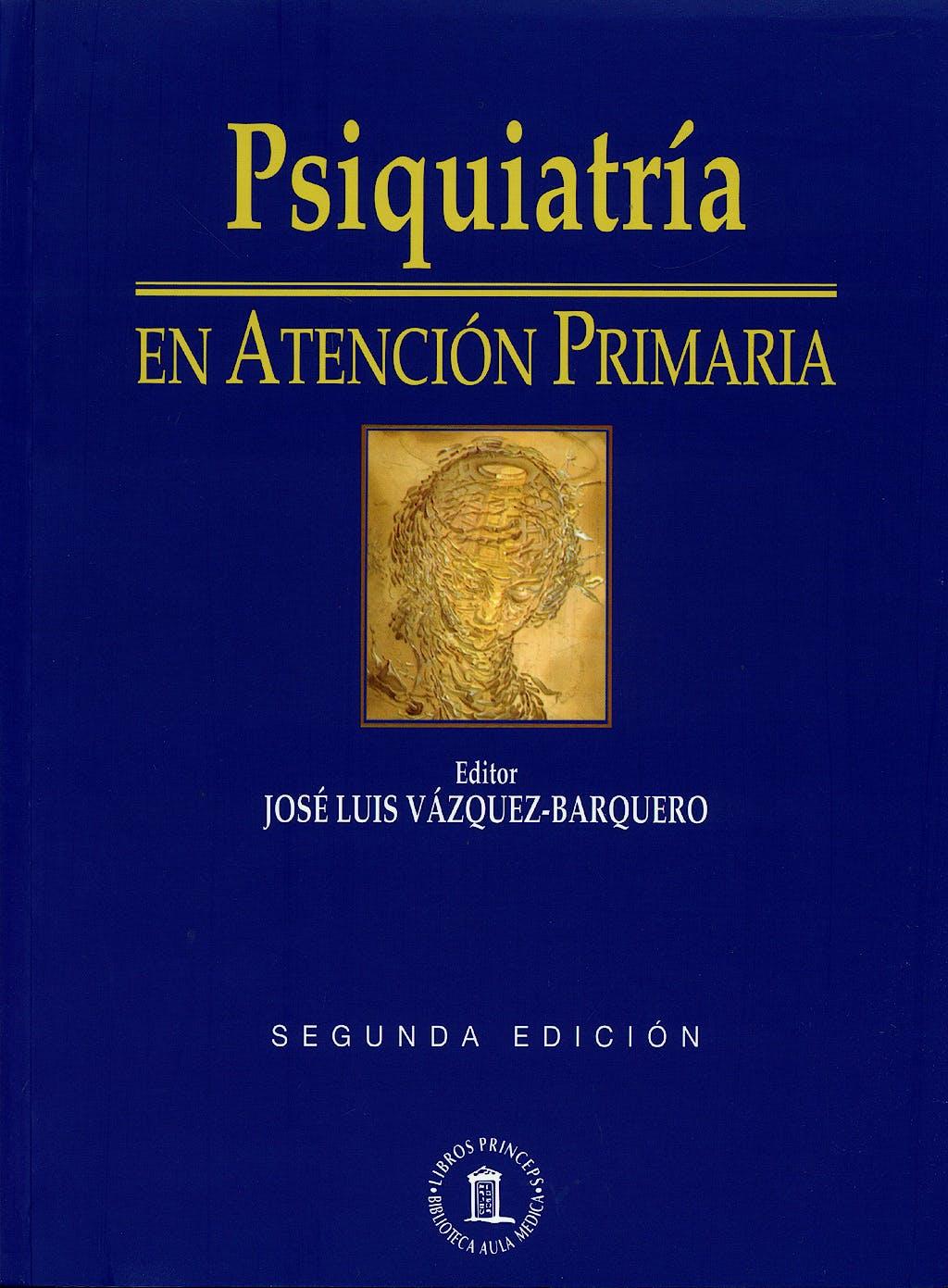 Portada del libro 9788478854424 Psiquiatría en Atención Primaria