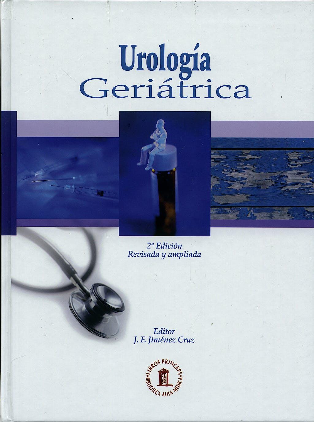 Portada del libro 9788478854431 Urología Geriátrica