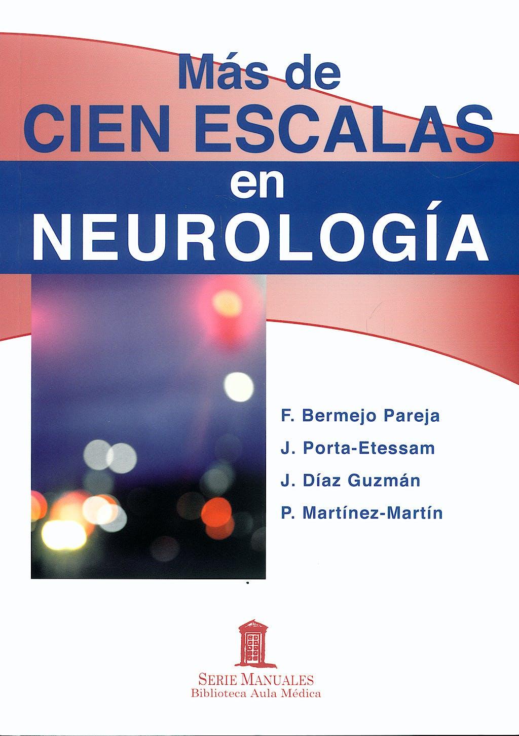 Portada del libro 9788478854615 Más de Cien Escalas en Neurología