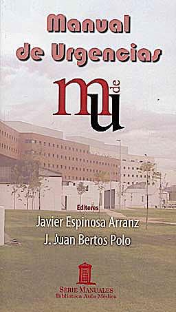 Portada del libro 9788478855148 Manual de Urgencias