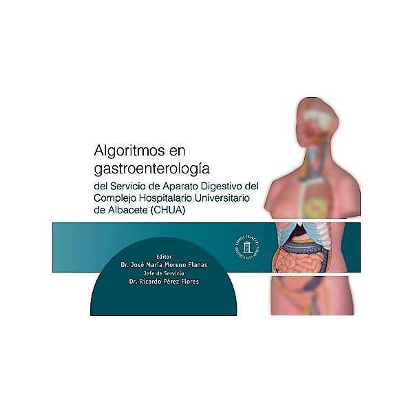 Portada del libro 9788478855773 Algoritmos en Gastroenterologia del Servicio de Aparato Digestivo del Complejo Hospitalario Universitario de Albacete
