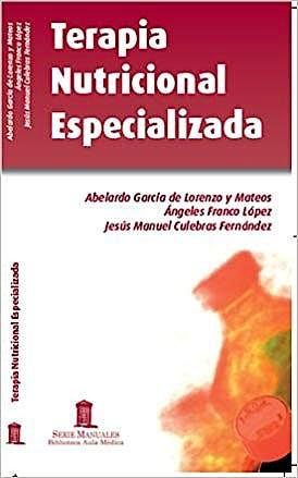 Portada del libro 9788478855964 Terapia Nutricional Especializada