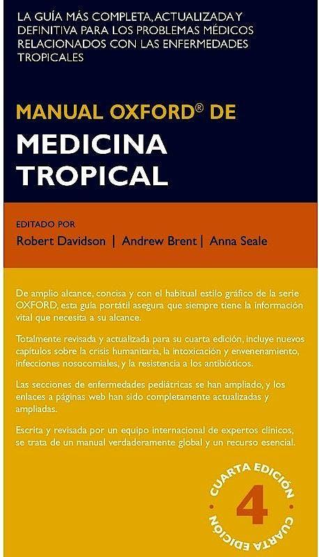 Portada del libro 9788478856039 Manual Oxford de Medicina Tropical