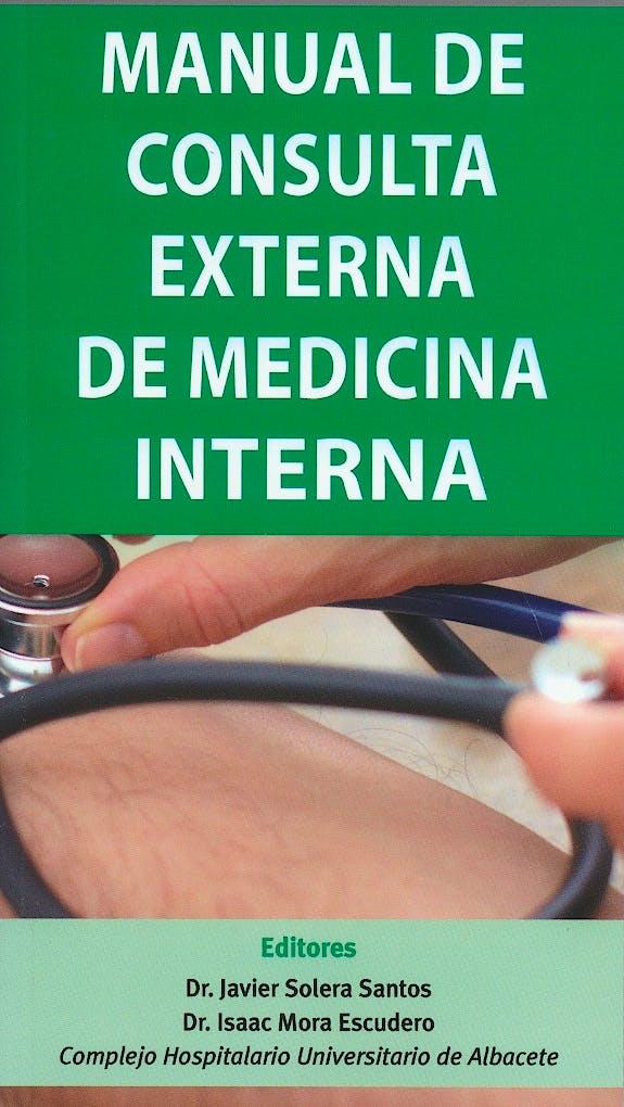 Portada del libro 9788478856077 Manual de Consulta Externa de Medicina Interna