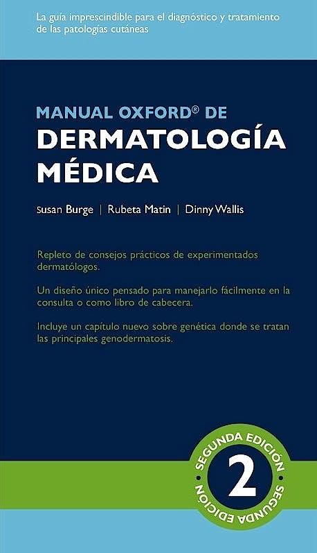 Portada del libro 9788478856343 Manual Oxford de Dermatología Médica