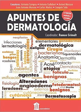 Portada del libro 9788478856763 GRIMALT Apuntes de Dermatología