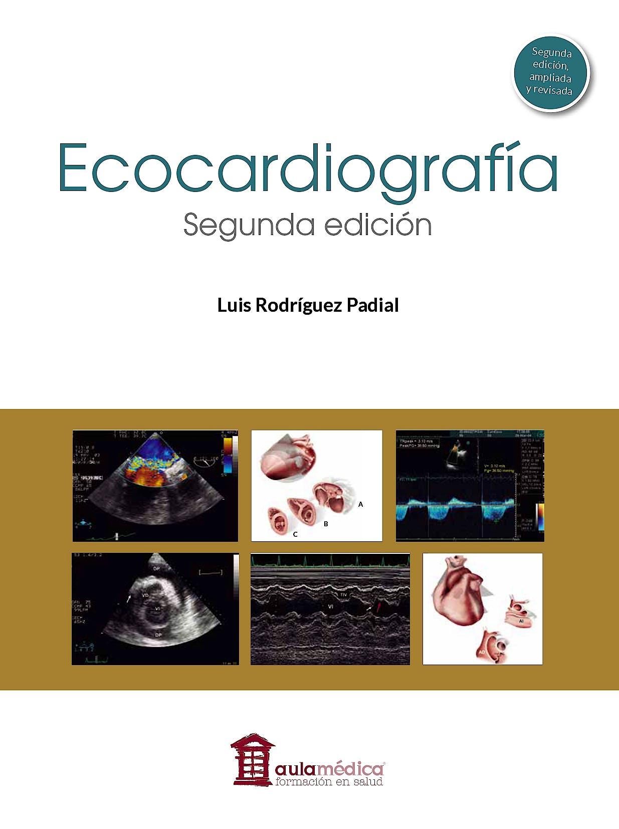 Portada del libro 9788478856787 Ecocardiografía