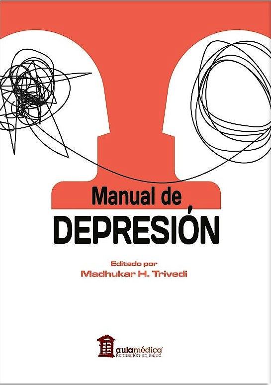 Portada del libro 9788478856848 Manual de Depresión