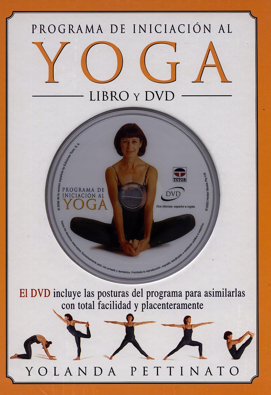 Portada del libro 9788479026059 Programa de Iniciacion al Yoga + Dvd
