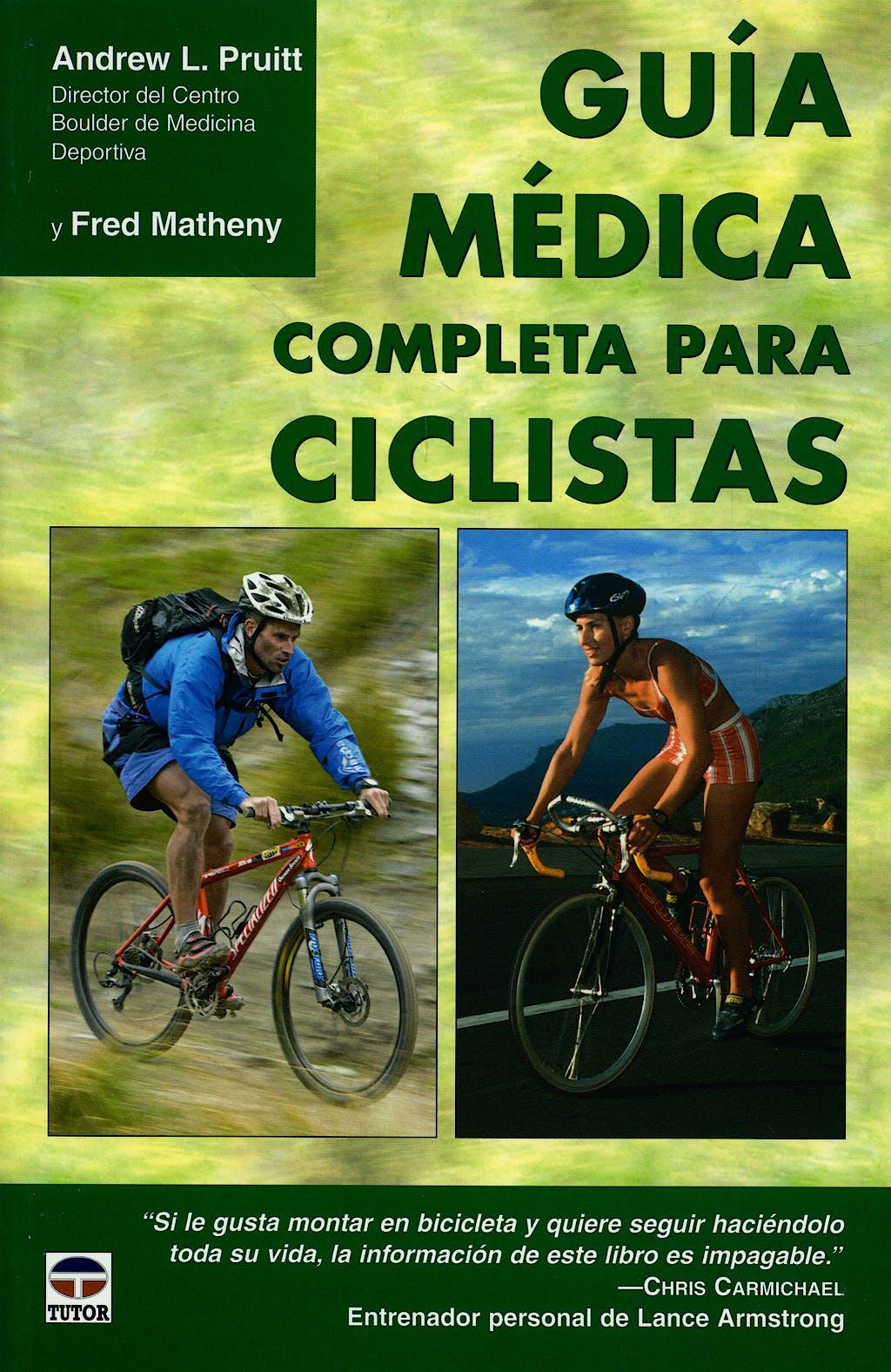 Portada del libro 9788479026806 Guia Medica Completa para Ciclistas