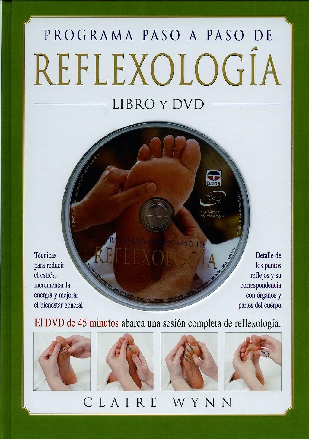Portada del libro 9788479026813 Programa Paso a Paso de Reflexologia.