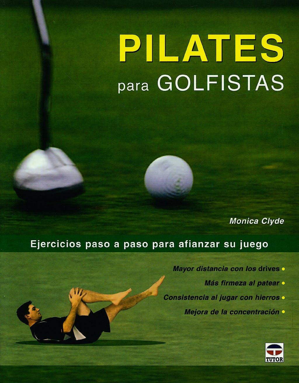 Portada del libro 9788479026912 Pilates para Golfistas