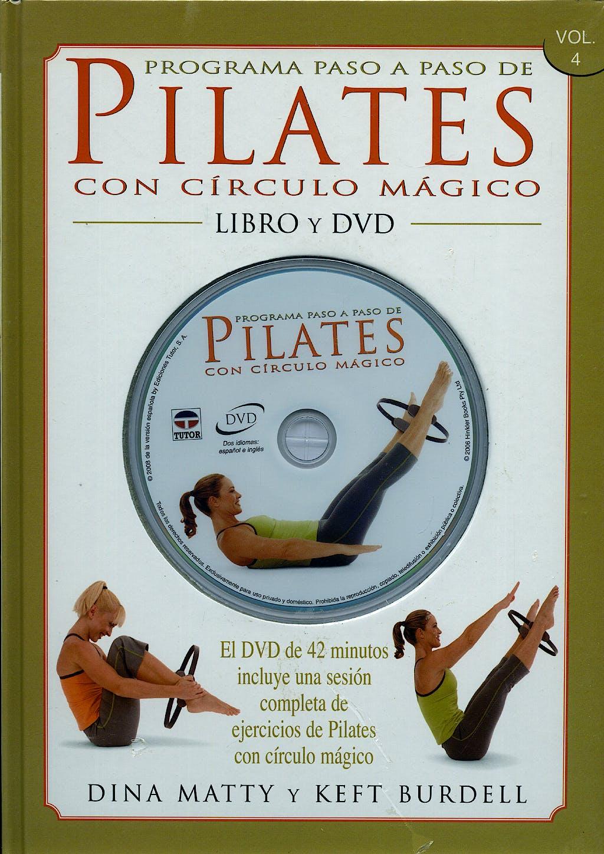 Portada del libro 9788479027025 Programa Paso a Paso de Pilates con Circulo Magico. Libro y Dvd