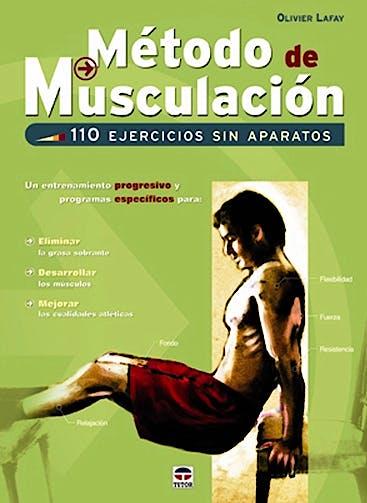 Portada del libro 9788479027698 Metodo de Musculacion. 110 Ejercicios sin Aparatos
