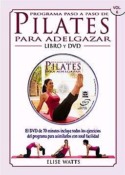 Portada del libro 9788479028664 Programa Paso a Paso de Pilates para Adelgazar + DVD