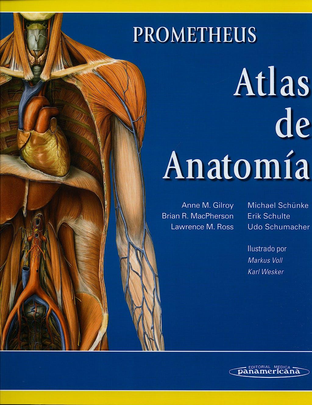 Producto: Prometheus Atlas de Anatomia + Fichas de Autoevaluacion