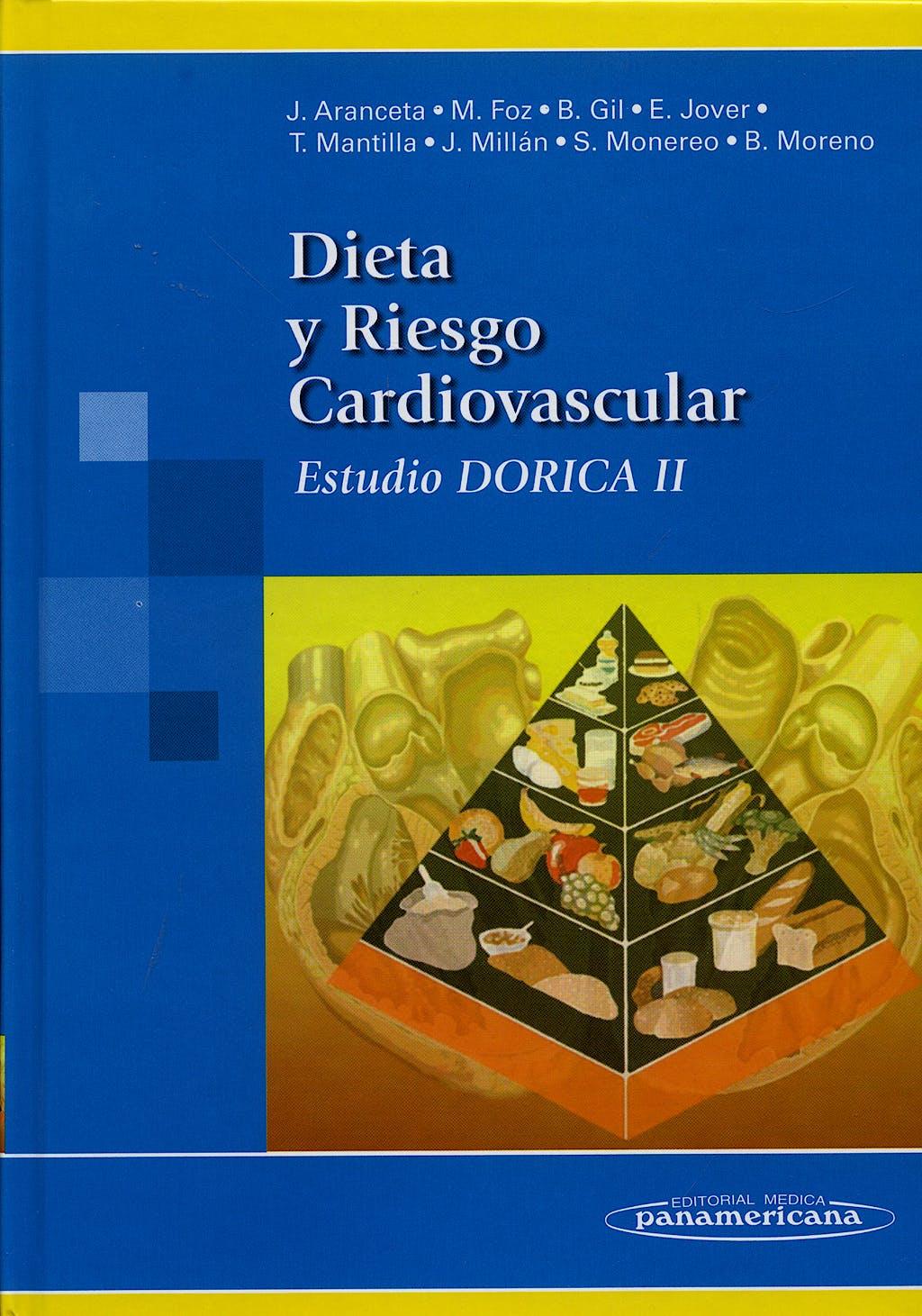 Portada del libro 9788479036096 Dieta y Riesgo Cardiovascular. Estudio Dorica II