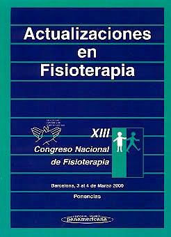 Portada del libro 9788479036249 Actualizaciones en Fisioterapia (Xiii Congreso Nacional de Fisioterapia Española)