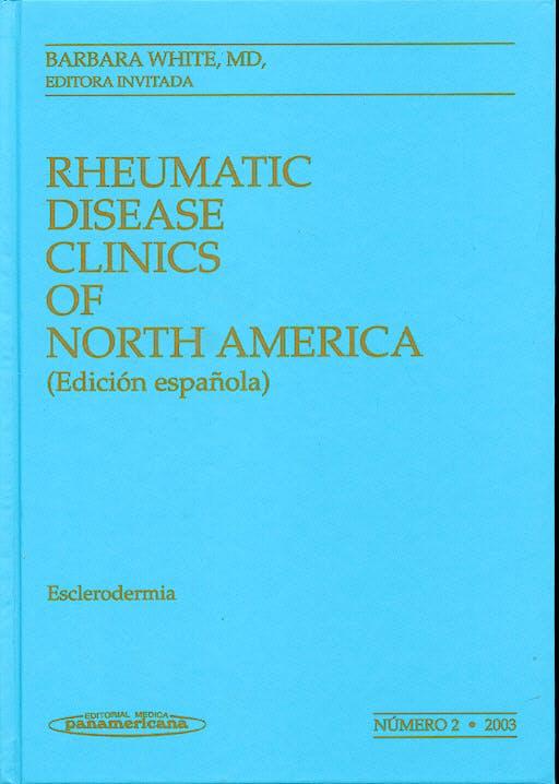 Portada del libro 9788479038236 Esclerodermia. Clinicas de Norte America