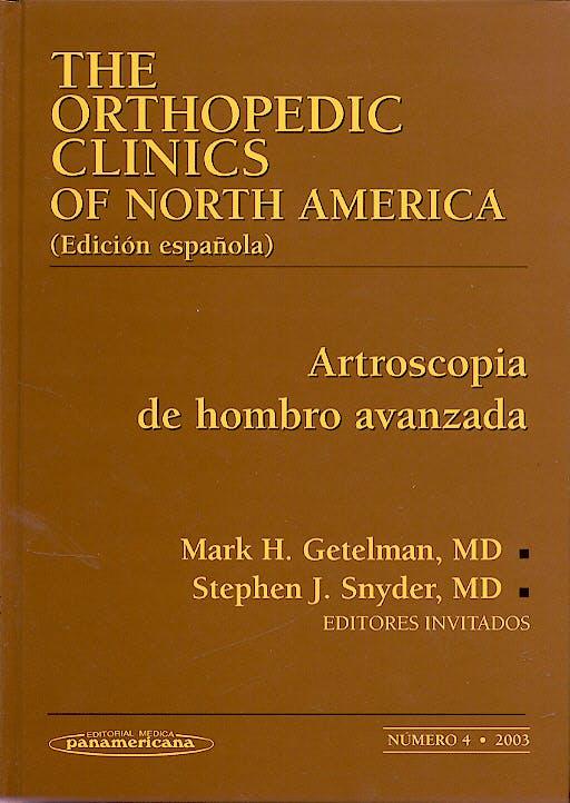 Portada del libro 9788479038311 Artroscopia de Hombro Avanzada