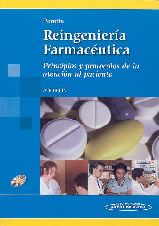 Portada del libro 9788479039431 Reingeniería Farmaceútica. Principios y Protocolos de la atenci..+cd-R