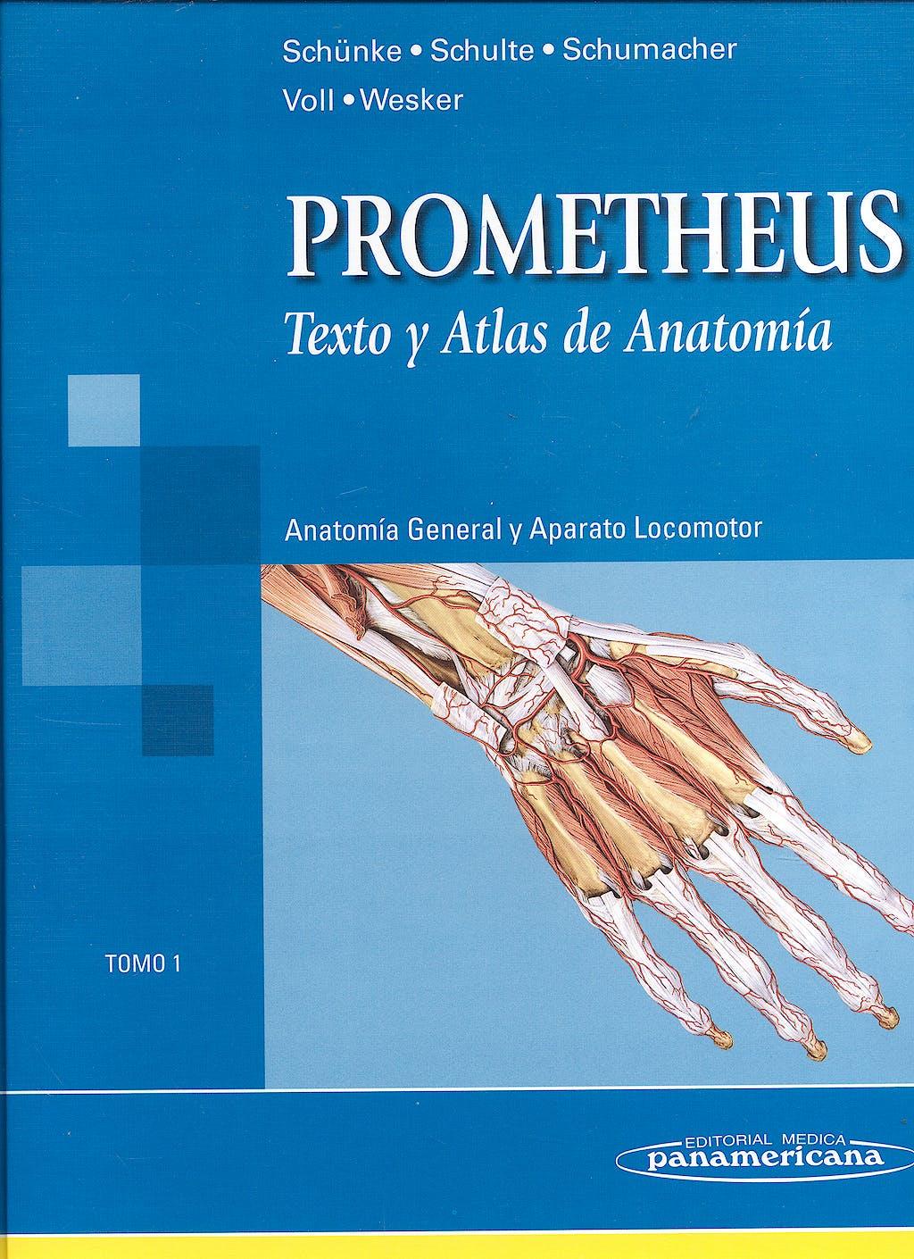 Producto: Prometheus Texto y Atlas de Anatomia, Tomo 1: Anatomia ...